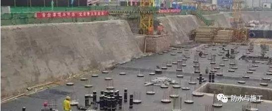 各个工程部位的防水施工