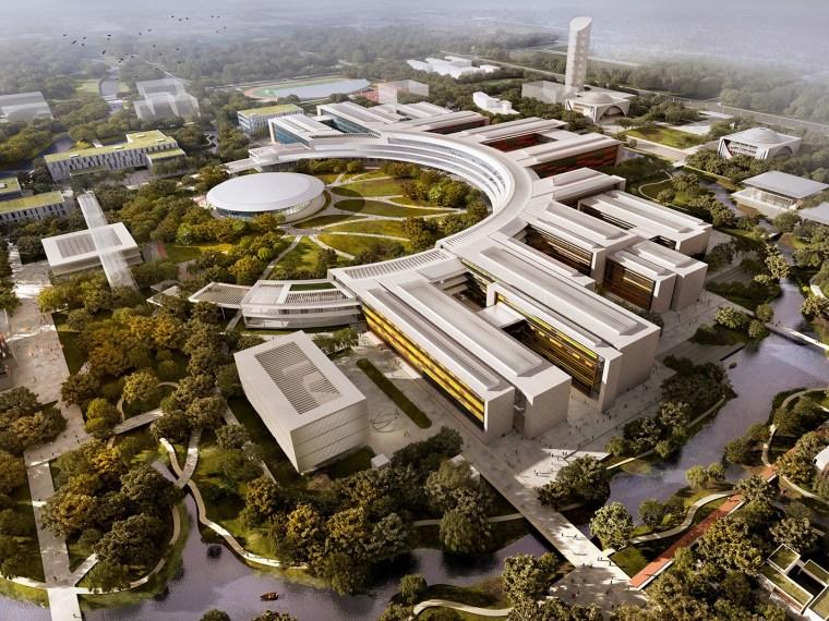 西湖大学校园总体规划