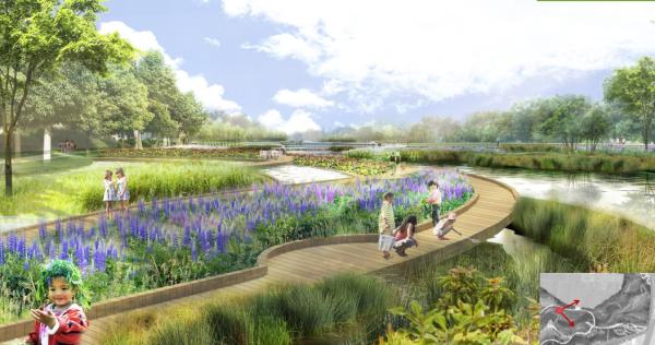 [吉林]环城绿带生态湿地公园景观设计方案