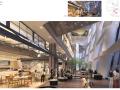 [福州]三层现代风格中心商场设计方案含效果图(概念+深化+标识)