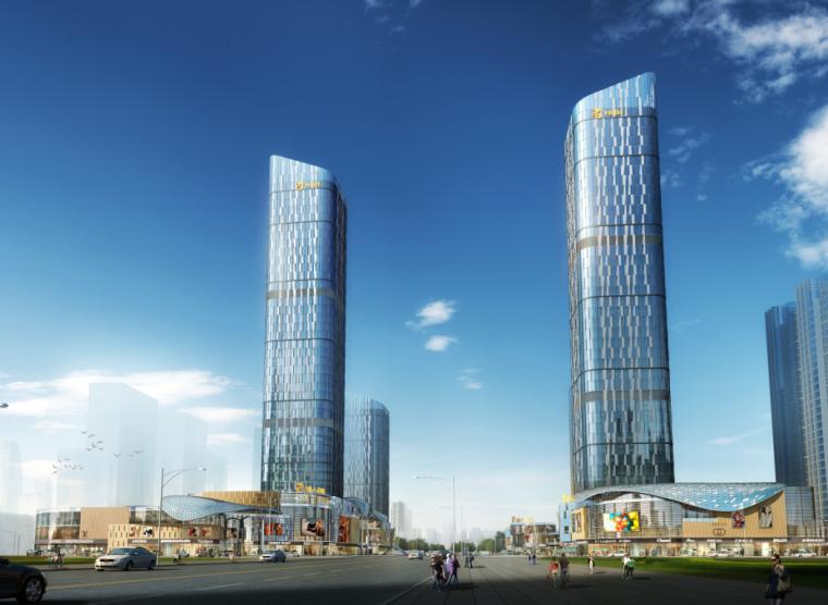 [河南]地标性超高层写字楼SOHO公寓及商业综合体方案(含CAD)_7