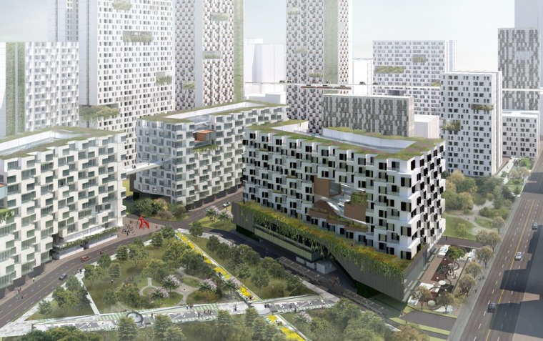 雅加达绿色曼哈顿总体规划-2