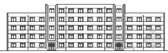 某五层宿舍楼建筑施工图