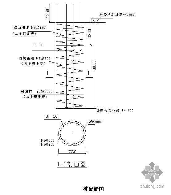 天津某住宅塔吊基础施工计算书(QTZ40)