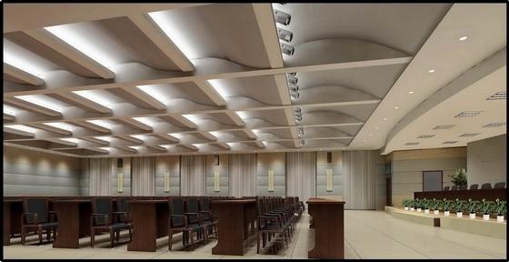 [葫芦岛]现代国家供电系统生产调度综合楼设计概念方案图多功能厅效果图