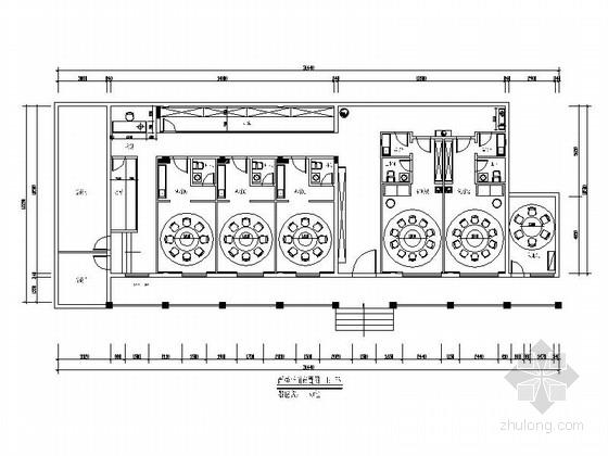 [杭州]某酒店公共区及餐饮区改造室内装修施工图(含效果)