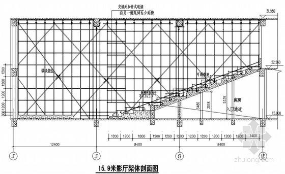 [河南]商业广场满堂碗扣脚手架高支模施工方案(15.9m)