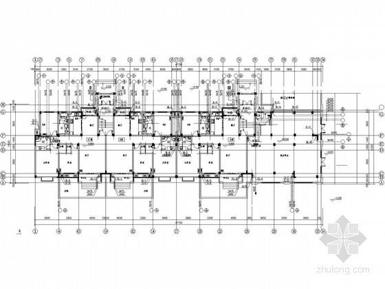 六层住宅楼给排水施工图(太阳能热水系统)