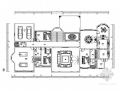 豪华170万装修的三层欧式乡村风格别墅室内设计施工图(含效果)