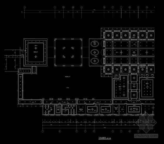 [四川]精品时尚简欧风格销售中心室内装修设计方案