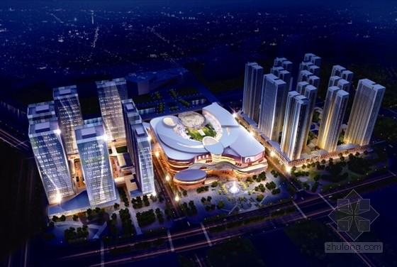 [山西]知名地產大型高層商業綜合體建筑結構施工圖(含詳細建筑圖)