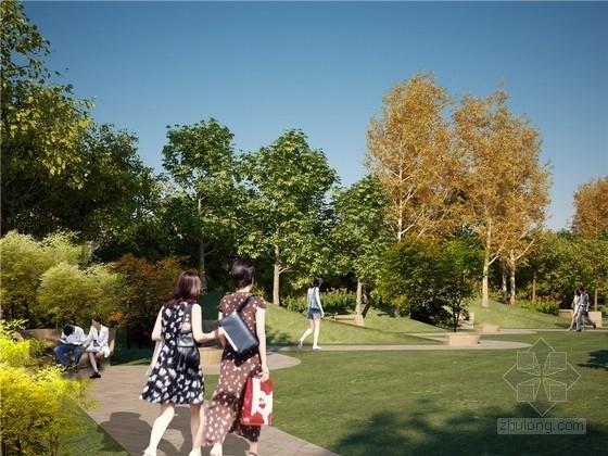 [上海]城市交通干道绿化带景观规划设计方案