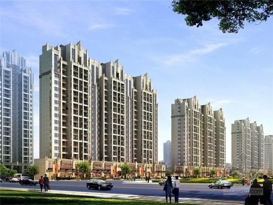 [安徽]artdeco风格高层住宅设计方案文本(知名地产)