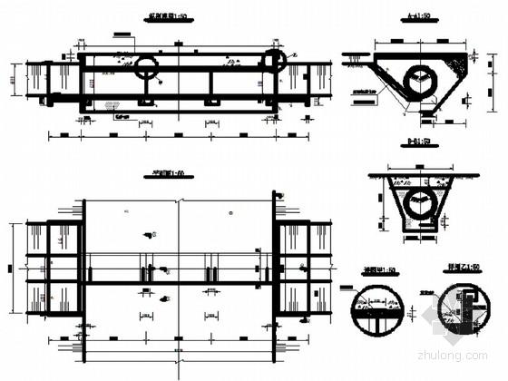 [内蒙古]土地整理工程设计施工图(农田水利 道路工程)