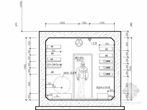 [重庆]2015年设计城市地下综合管廊图集全套392张(给排水电力照明通信天然气)
