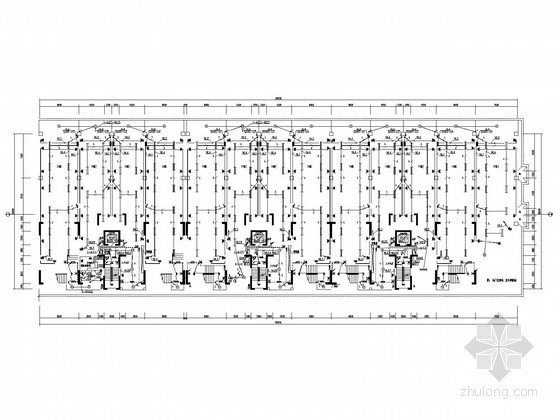 [上海]十七层大型商住楼全套电气施工图纸(含住宅、商业及车库)