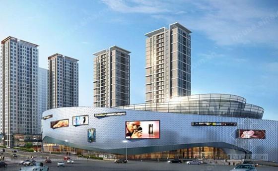 [辽宁]大型商业中心外幕墙工程预算书(含全套施工图纸 投标报价)