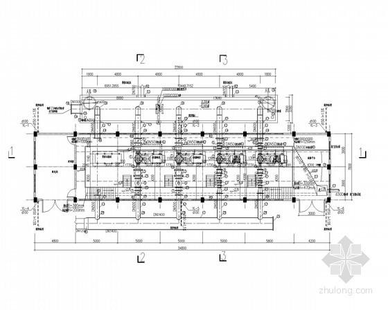 [重庆]生态工业园自来水厂工艺施工图