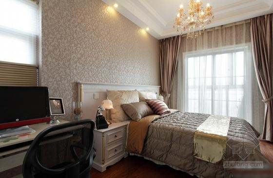 [石家庄]综合性社区典雅欧式复式装修图(含实景)卧室实景图