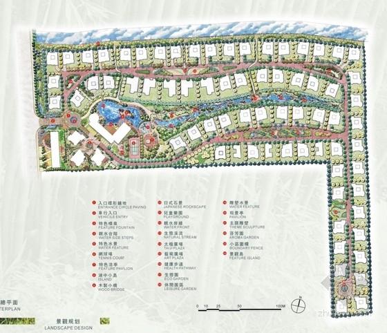 [上海]住宅小区园林景观规划设计方案文本