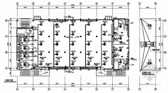 安徽某公司二层食堂电气施工图