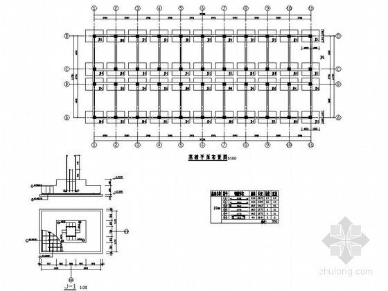 [学士]某6层学生公寓毕业设计(含计算书,建筑、结构图)