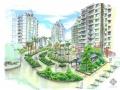 [温州]某住宅小区建筑结构景观绿化投标方案及施工图(佳境)