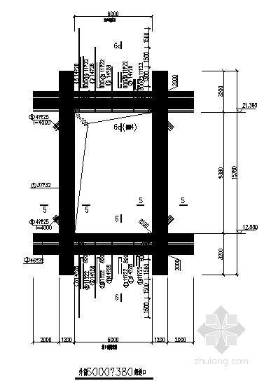 钢烟囱外筒烟道节点构造详图