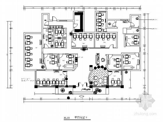 [湖北]足浴保健会所室内装修图