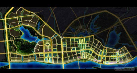 [江西]新区城市形象夜景规划与设计方案