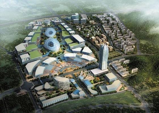 [湖南]地标展贸中心智能化方案及设计要点分析226页(含图纸50张)