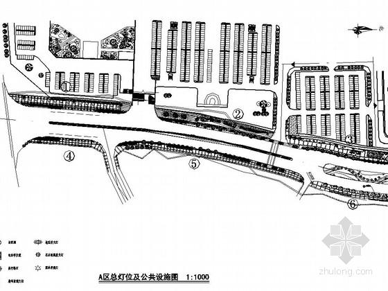城市道路园林景观工程施工图