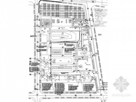 [广东]10万平汽车客运站电气施工图纸100张(甲级设计院)