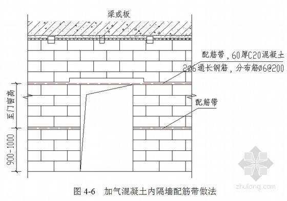 [湖南]医院砌体及轻质隔墙施工方案(加气混凝土砌块)