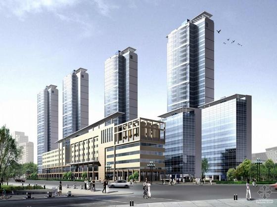 [上海]某知名设计院金陵某路项目规划及建筑设计文本
