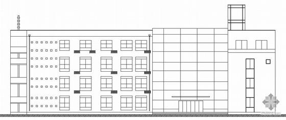 [深圳]某粮食储备仓库建筑结构水暖电地坪处理施工图(含完整的详勘报告)