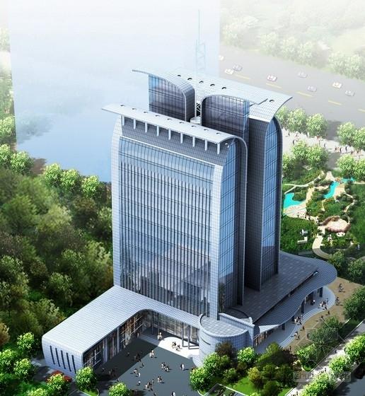 [山东]12层企业办公楼建筑设计方案文本