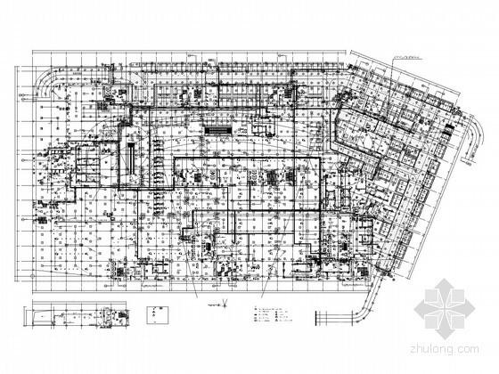 国内大型知名广场项目全套电气施工图纸567张(含审图意见及多大样图)