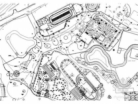 [广州]某游乐园拓展新区景观工程绿化施工图