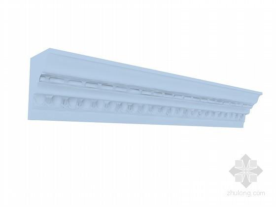 欧式装饰角线3D模型下载