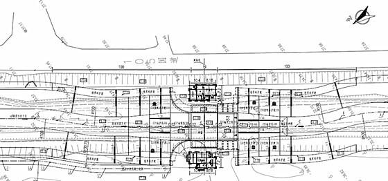 [安徽]单孔钢坝闸式水闸工程施工图