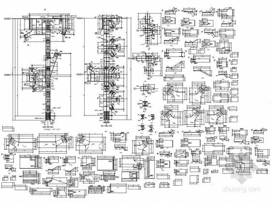化工厂厂房钢结构构件详图