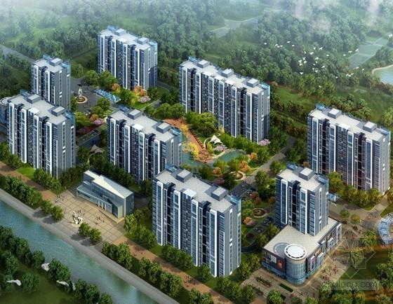 [南京]大型商住楼目标成本测算实例(全套表格)