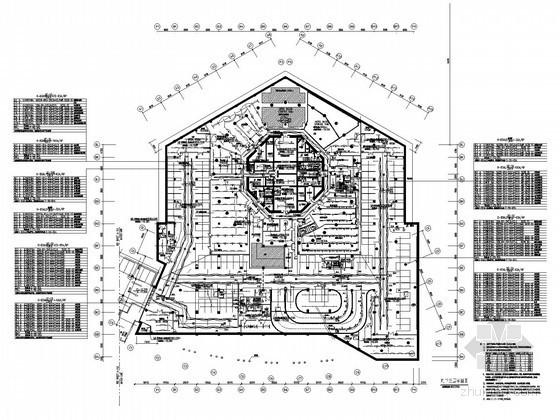 280米超高层商业广场综合楼电气施工图纸208张(甲级设计院项目)