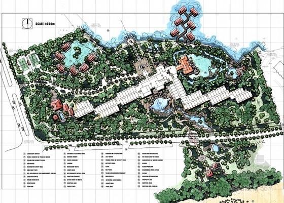 [三亚]热带滨海风情度假酒店景观设计方案