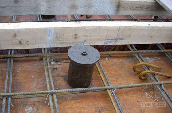 紧定式钢套管预留孔洞施工工法(附图)