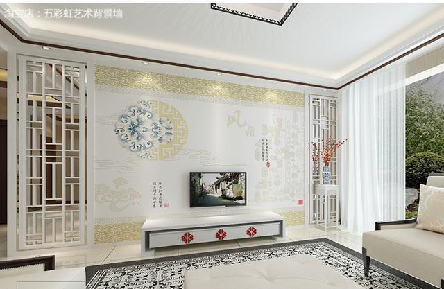 让人眼前一亮的11款最流行的新中式背景墙