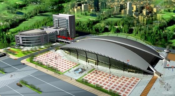 [淮安]某国际会展中心设计方案文本(带效果图)