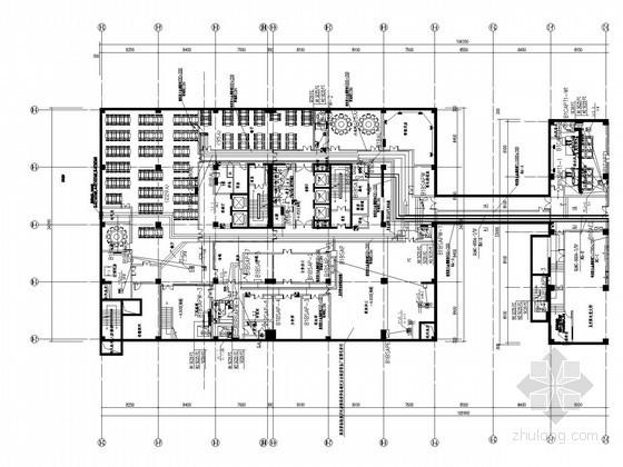 [北京]一类办公楼配电系统施工图纸(大样)