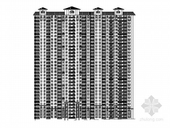 [哈尔滨]某三十二层住宅楼建筑施工图